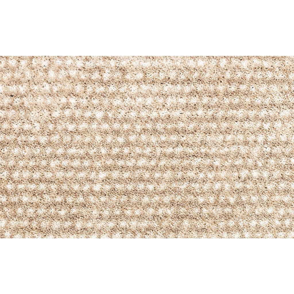 SCHÖNER WOHNEN-Kollektion Fußmatte »Miami 002 WM«, rechteckig, 7 mm Höhe, Schmutzfangmatte, waschbar