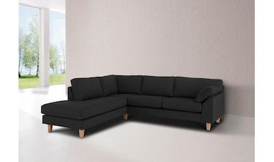 Premium collection by Home affaire Ecksofa »Garda«, mit Wellenunterfederung kaufen