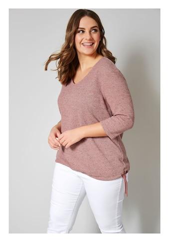 Janet & Joyce by Happy Size Sweatshirt mit Bindeband kaufen