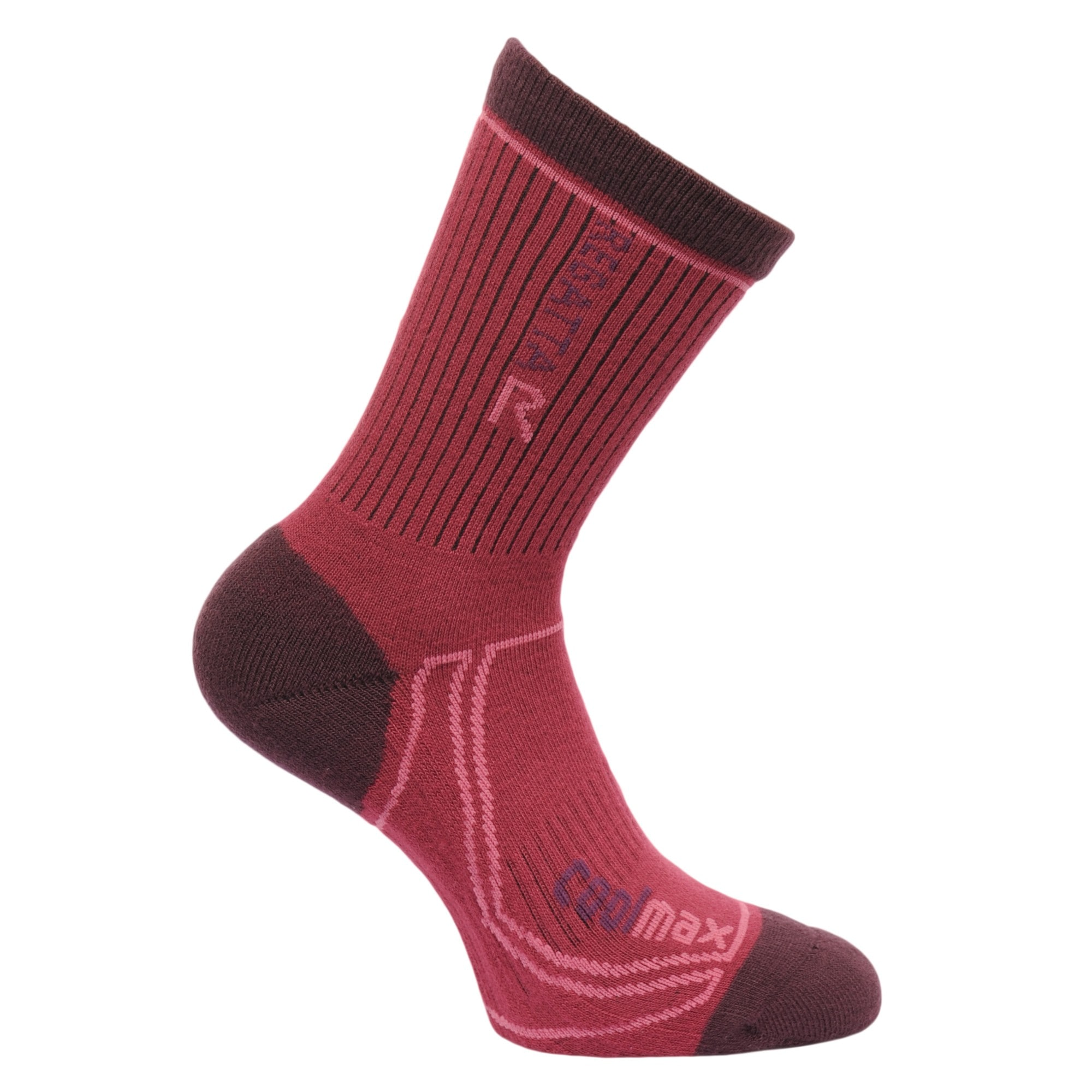 Regatta Wandersocken Great Outdoors Damen 2 Season Coolmax Socken | Sportbekleidung | Braun | Regatta