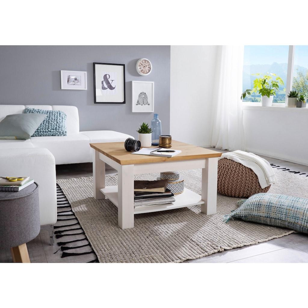 Premium collection by Home affaire Couchtisch »Marissa«, aus Massivholz, hochwertig verarbeitet