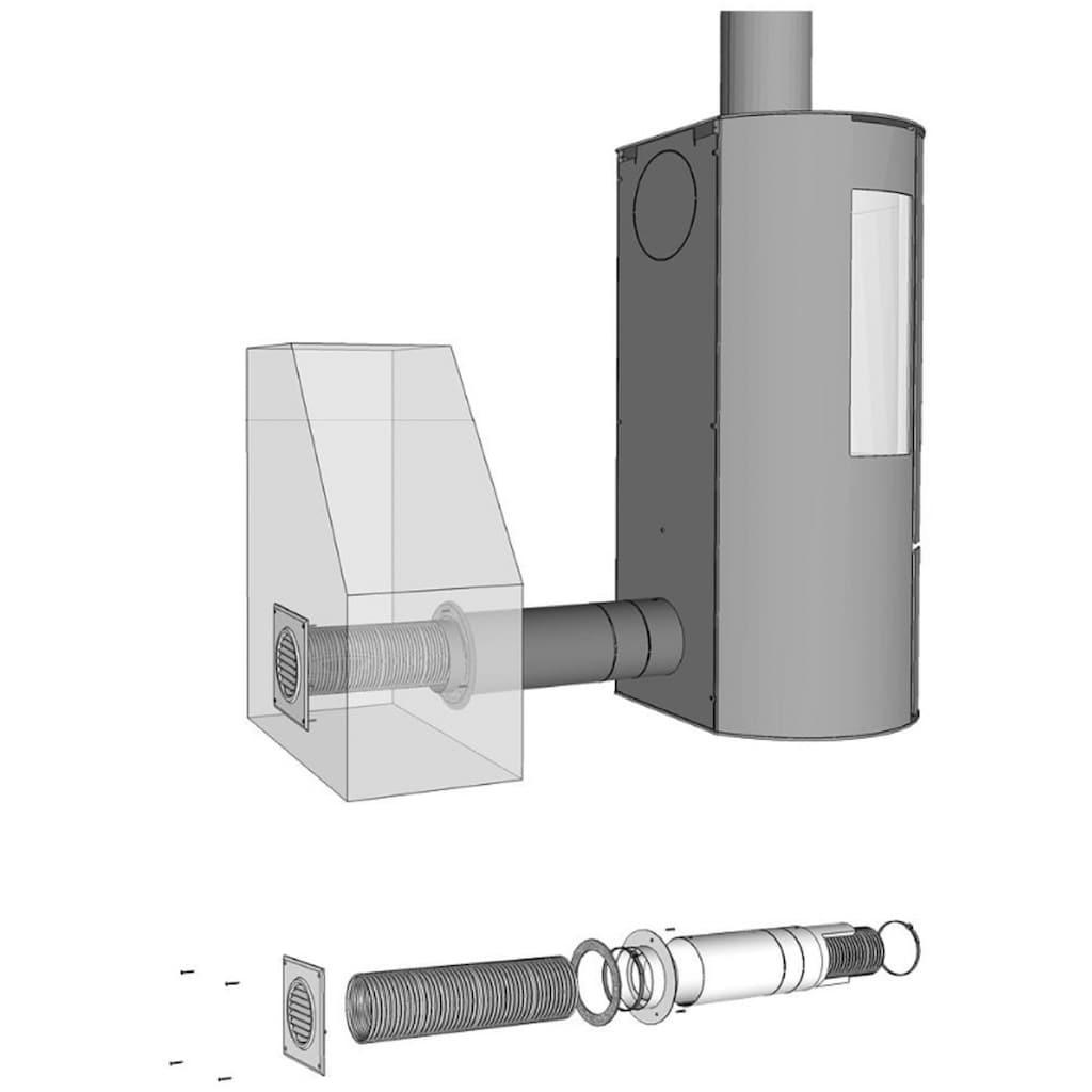 ADURO Ventilator »Frischluftsystem Ø80 mm«, Frischluftsystem für Kaminofen, Ø 80 mm