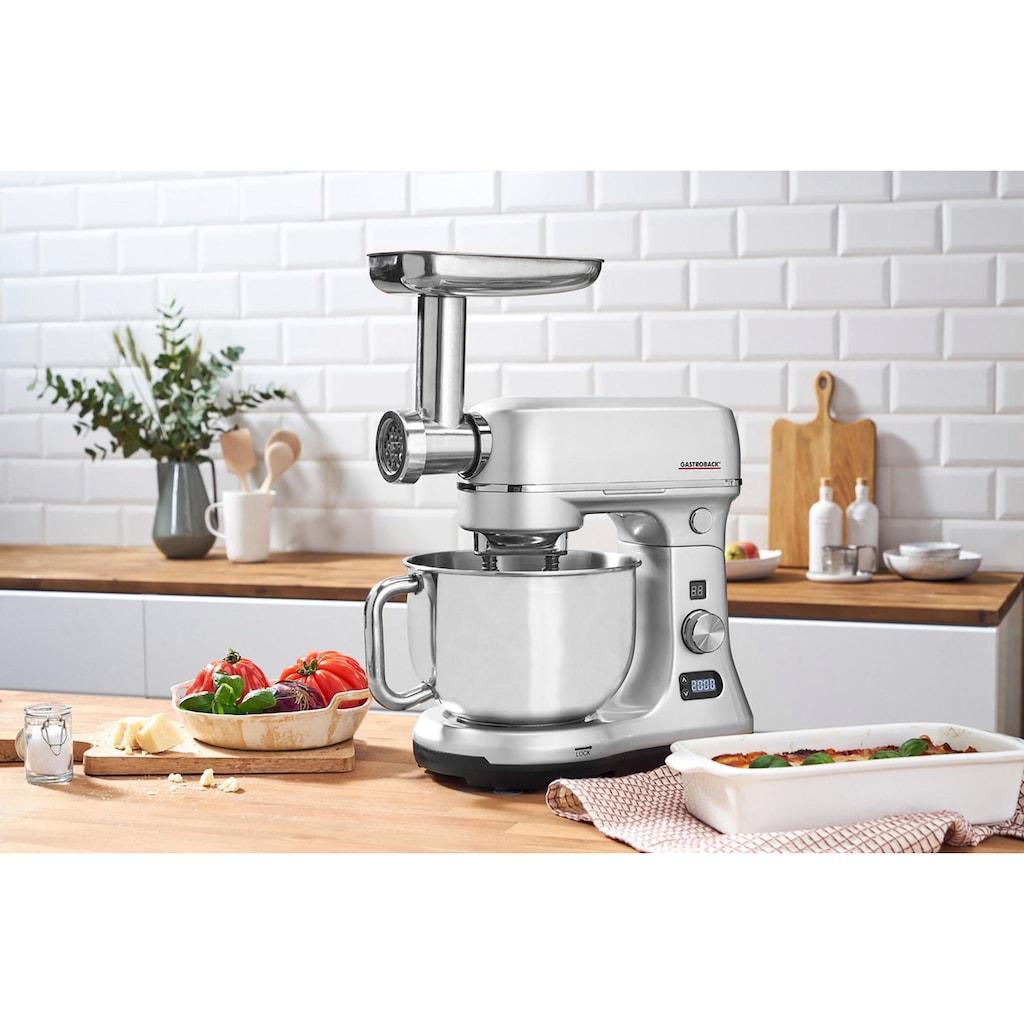 Gastroback Küchenmaschine »40977 Design Advanced Digital«, 600 W, 5 l Schüssel