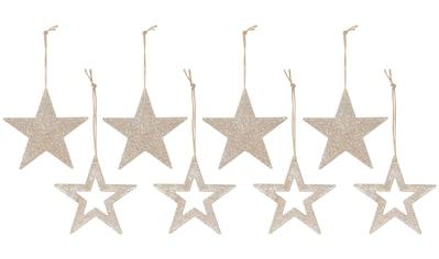 CHRISTMAS GOODS by Inge Dekohänger »Stern«, mit Glitter kaufen