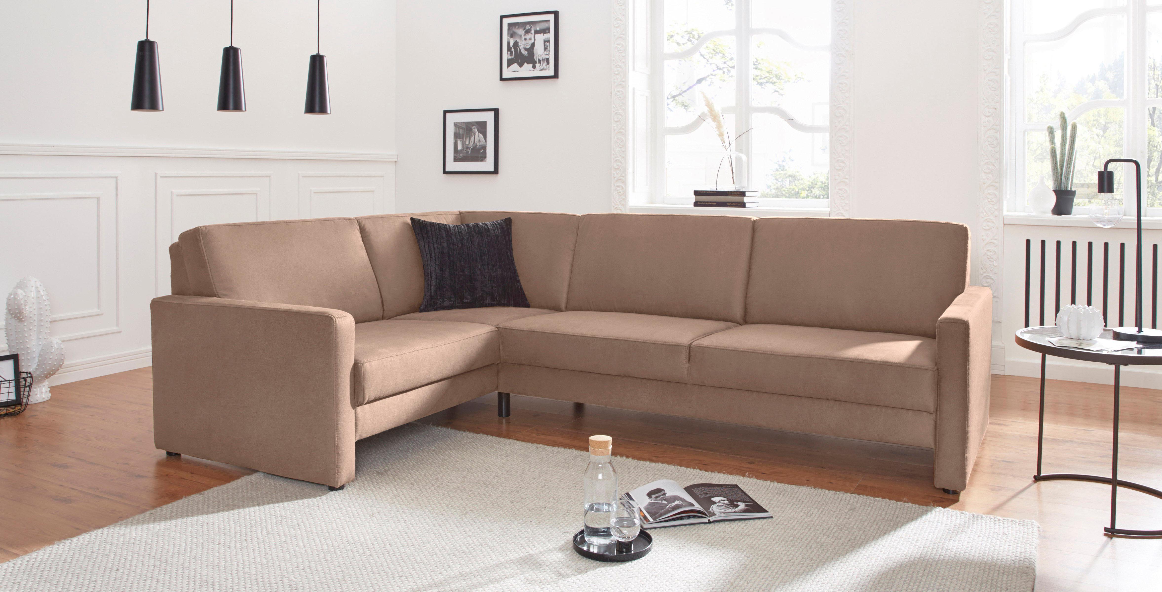 domo collection ecksofa auf rechnung kaufen baur. Black Bedroom Furniture Sets. Home Design Ideas