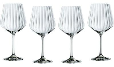 Nachtmann Cocktailglas »Optic«, (Set, 4 tlg.), Gin Tonic, 640 ml, 4-teilig kaufen