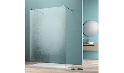 maw by GEO Walk-in-Dusche »flex A-W002C«, BxH: 90 x 200 cm, Crash-Glas klar kaufen