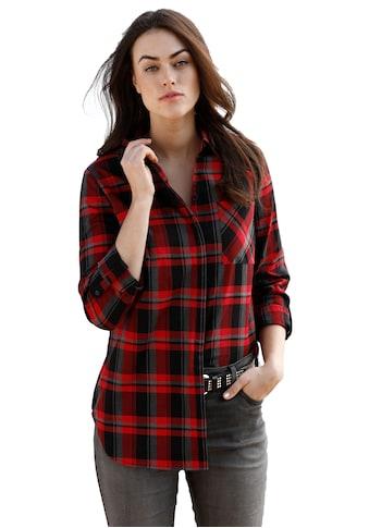 Emilia Lay Langarmbluse »Bluse«, mit Brusttasche kaufen