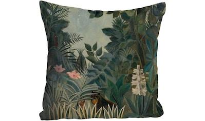 """Kissenhülle """"Dschungel"""" queence kaufen"""