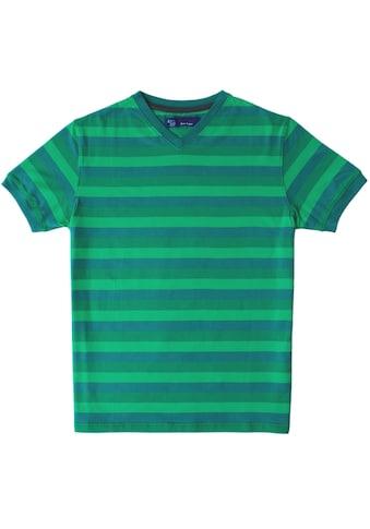 East Club London T-Shirt, im mehrfarbigen Streifen-Design kaufen