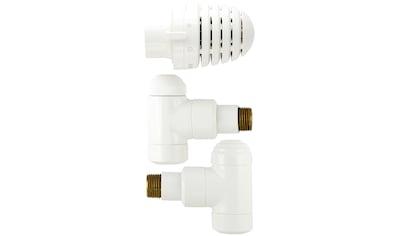 SCHULTE Set: Heizkörperthermostat »Eck«, für Anschlussrohre aus der Wand kaufen