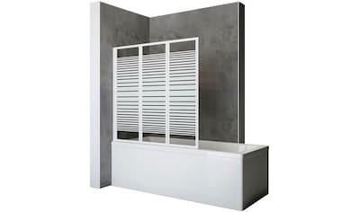 SCHULTE Komplett - Set: Badewannenaufsatz Zum Kleben oder Bohren, 3 - tlg., B x H: 127 x 121 cm kaufen