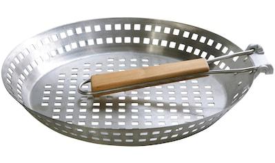 hecht international Grillpfanne, Edelstahl, Ø 32 cm kaufen
