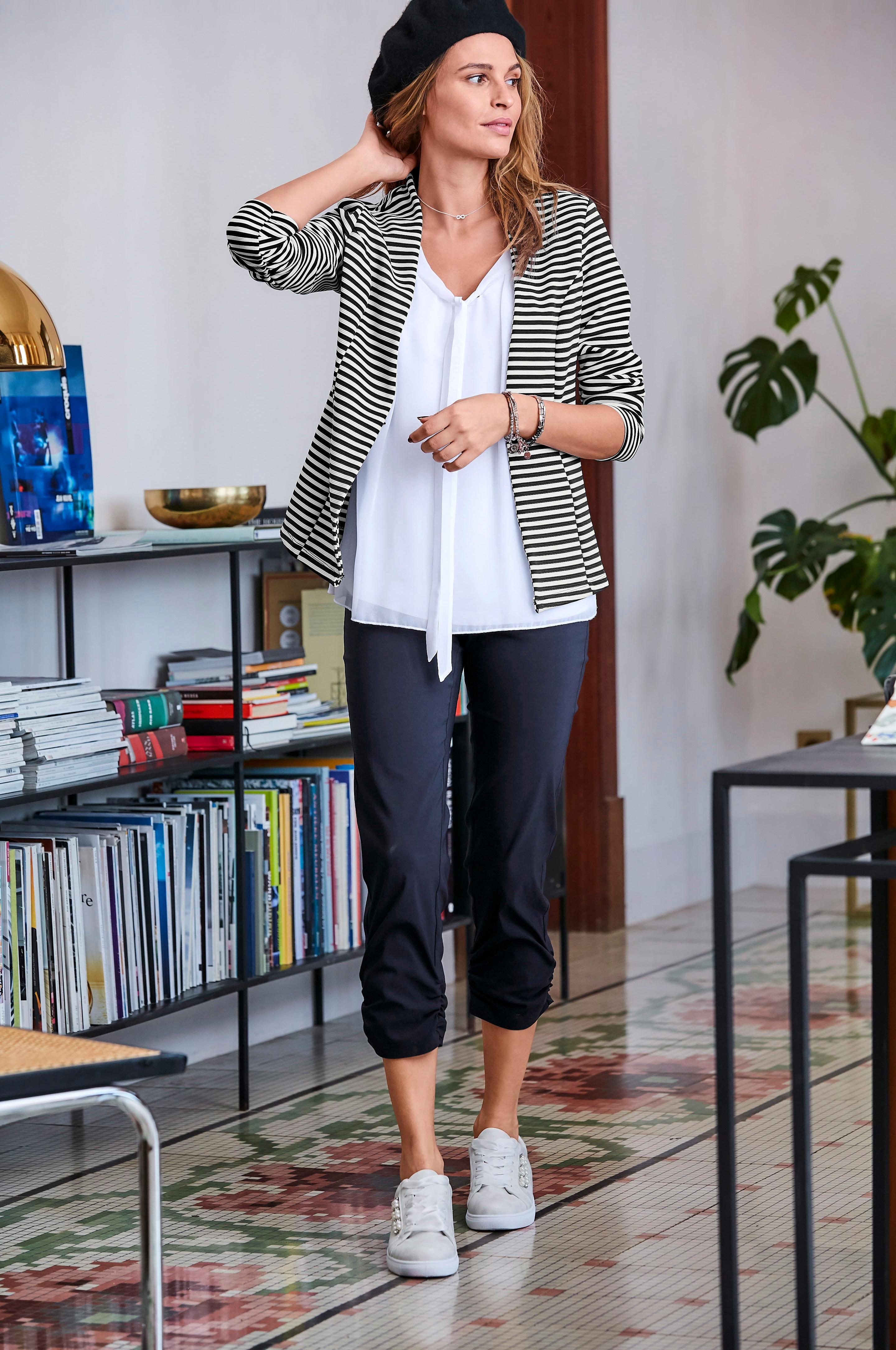 Aniston SELECTED Kurzblazer | Bekleidung > Blazer > Kurzblazer | Blau | Aniston Selected