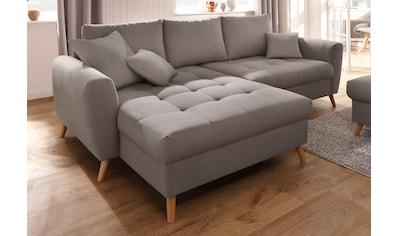 Home affaire Ecksofa »Blackburn Luxus« kaufen