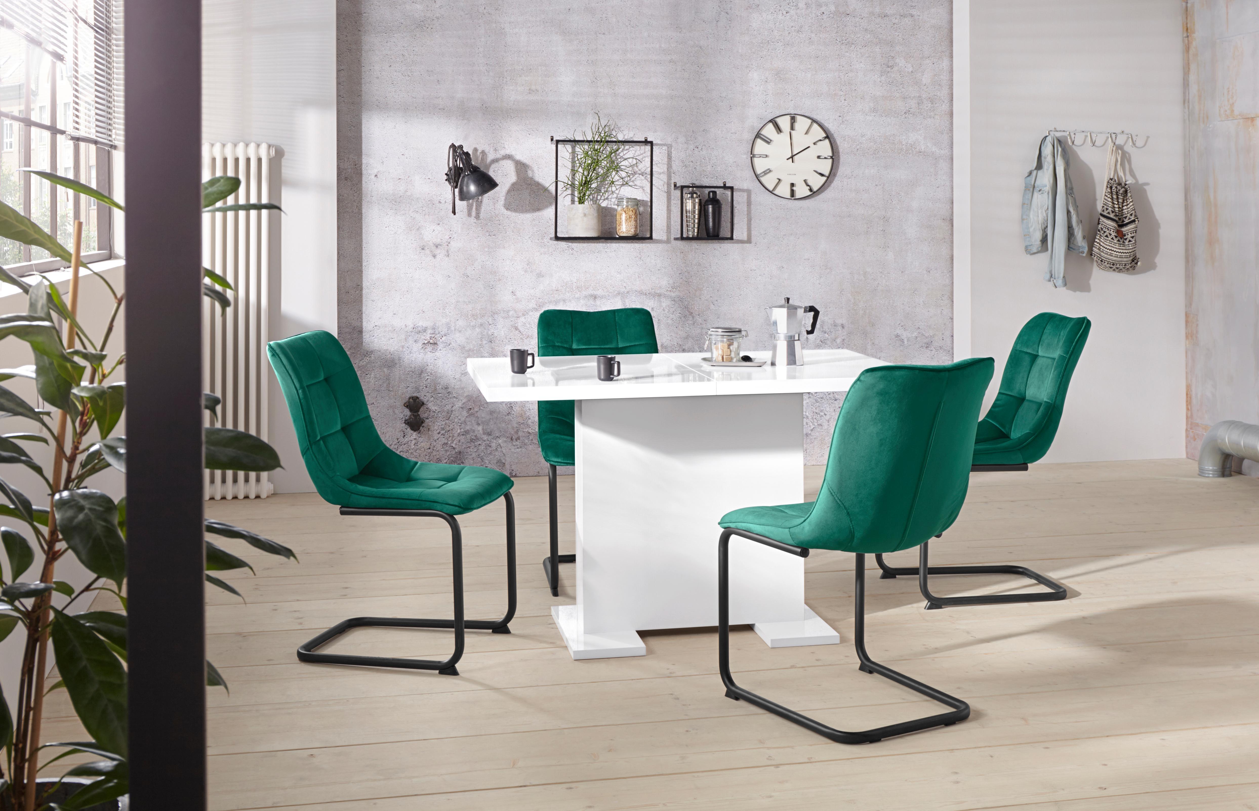 Essgruppe JENNY G bestehend aus einem Tisch und 4 Stühlen (5-tlg)