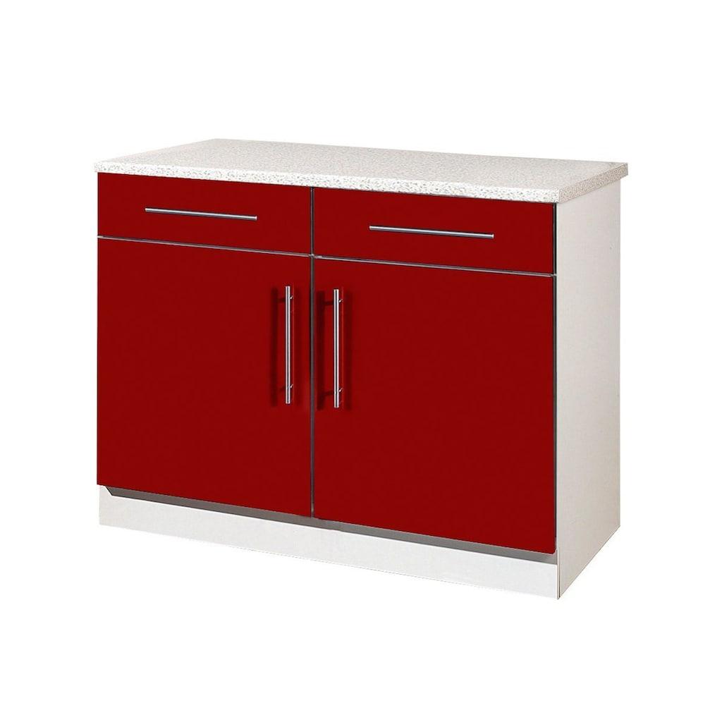 wiho Küchen Unterschrank »Aachen«, Breite 100 cm