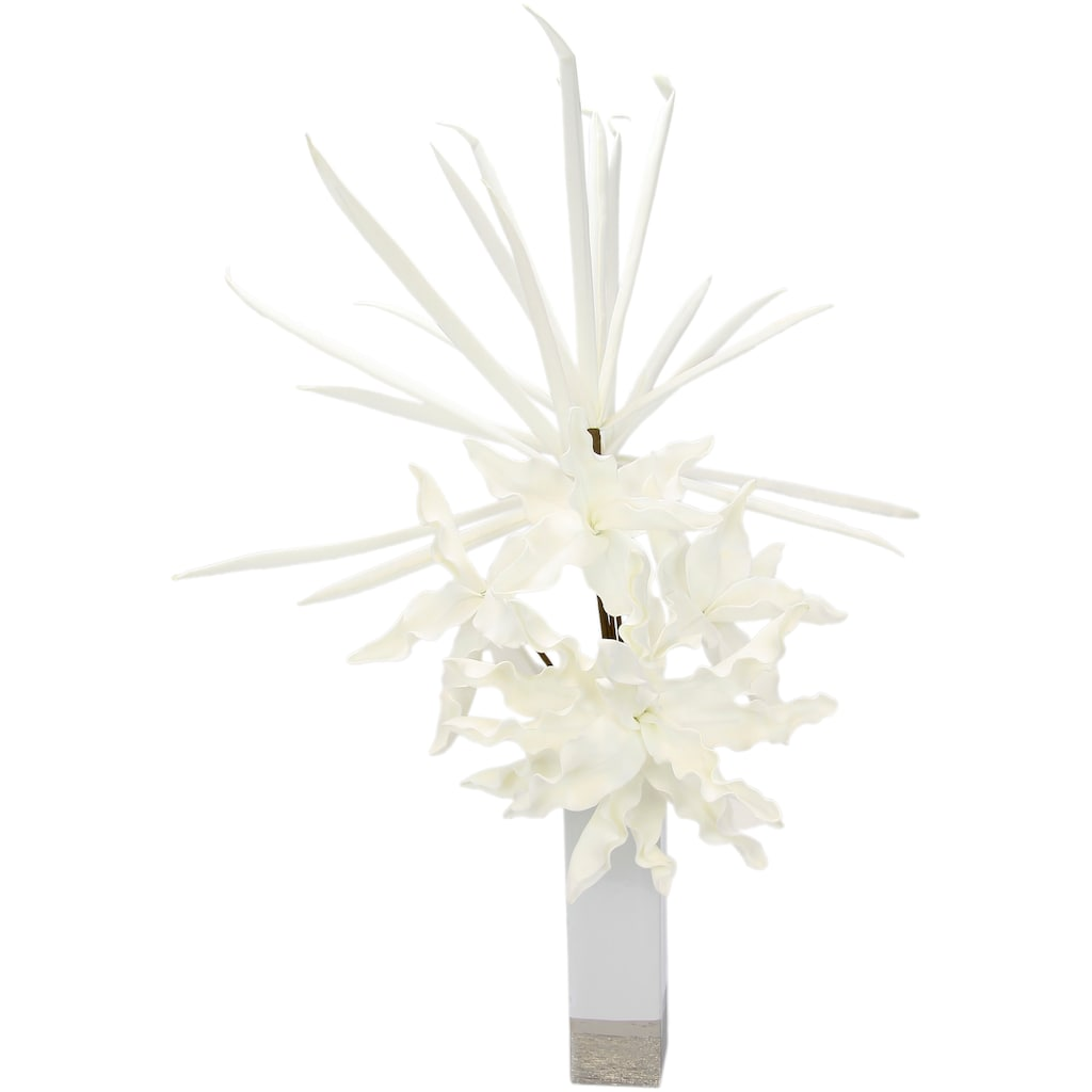 I.GE.A. Kunstblume »Soft-Blumenarrangement«, Keramikvase