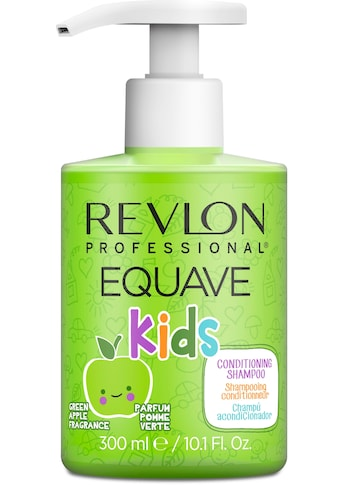REVLON PROFESSIONAL Gelshampoo »Equave kids Green Apple Hypoallergenic Shampoo«,... kaufen