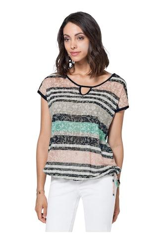 Ambria Shirt mit Tunnelzug und Bindeband im Saum kaufen