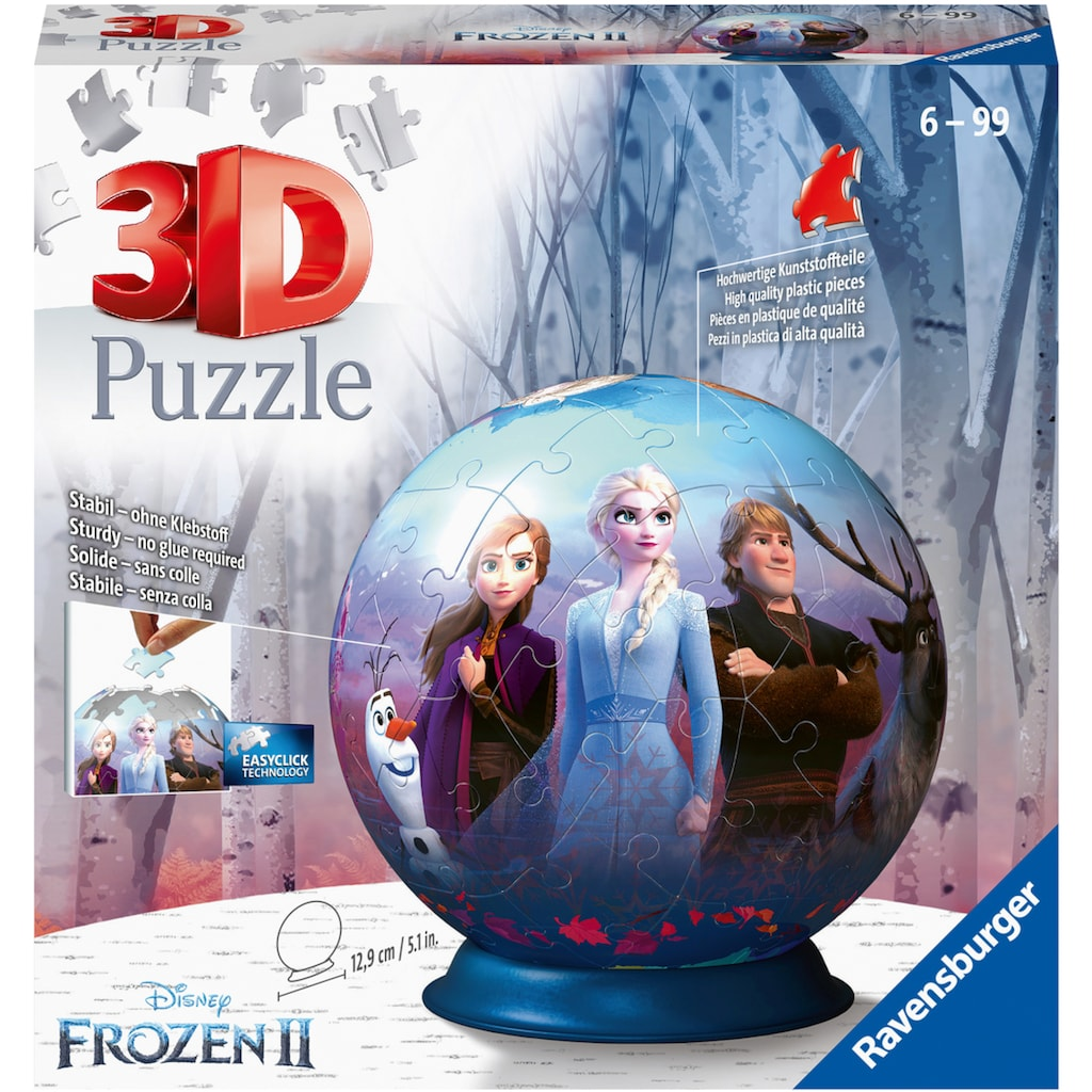 Ravensburger Puzzleball »Disney Frozen II«, Made in Europe, FSC® - schützt Wald - weltweit