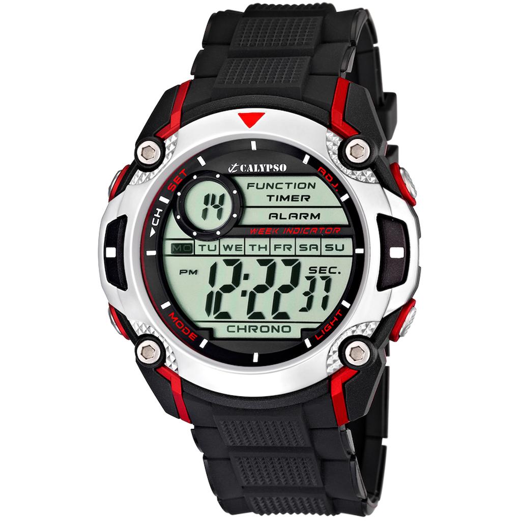 CALYPSO WATCHES Chronograph »Digital For Man, K5577/4«