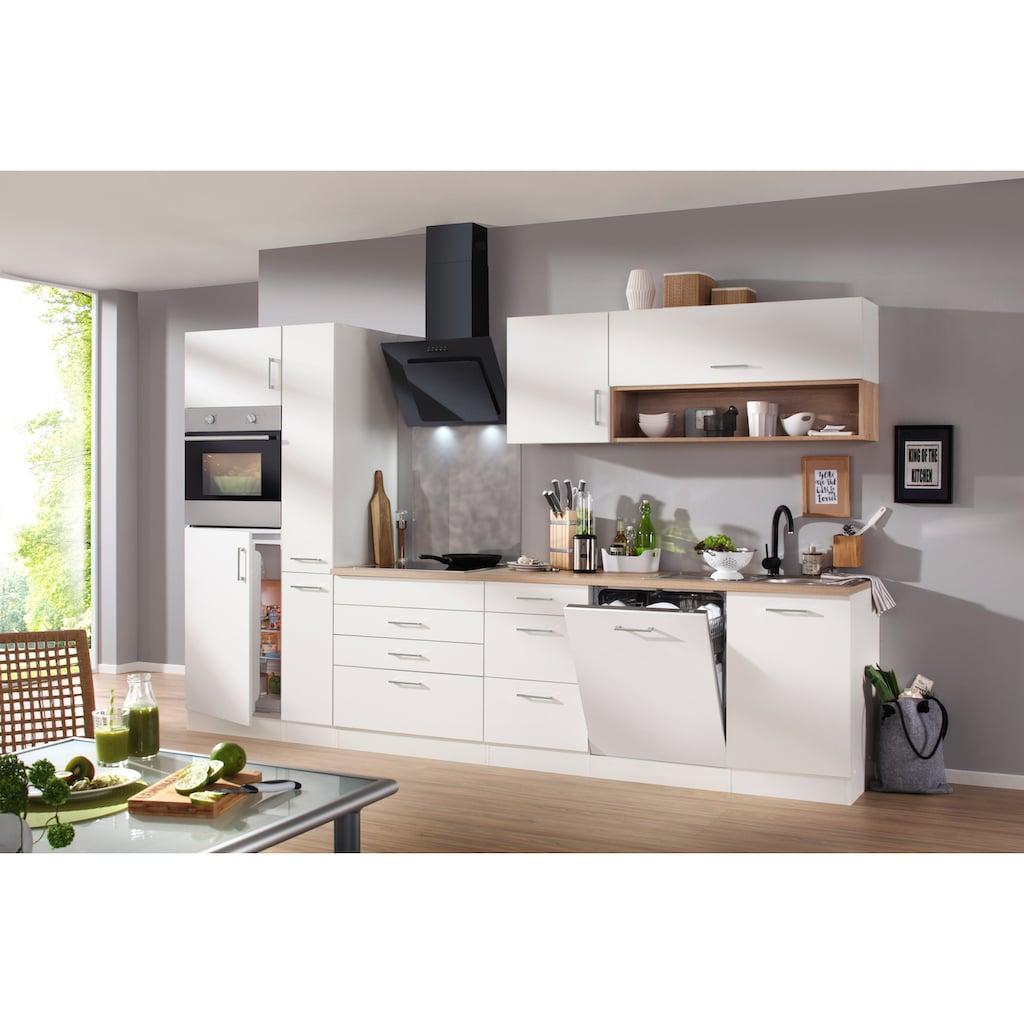 HELD MÖBEL Küchenzeile »Palermo«, mit E-Geräten, Breite 330 cm