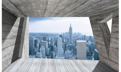 Consalnet Fototapete »Ausblick New York«, Motiv kaufen