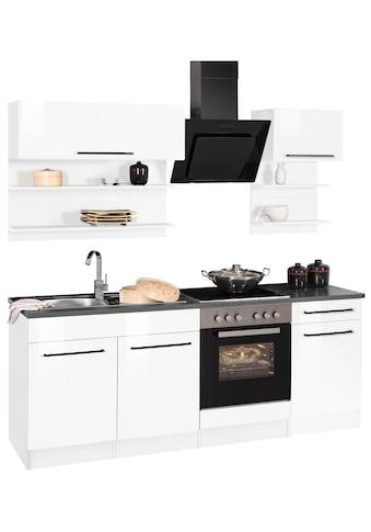 HELD MÖBEL Küchenzeile »Tulsa«, ohne E - Geräte, Breite 210 cm kaufen