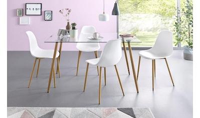 Glastische Esszimmer Onlineshop Baur