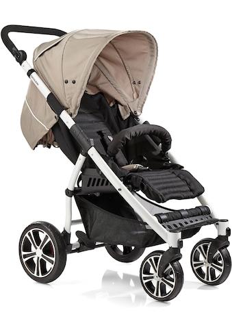 Gesslein Kinder-Buggy »S4 Air+ White, Camel/Black«, mit schwenkbaren Vorderrädern kaufen