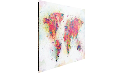 Deco - Panel »Weltkarte Farbenmix« kaufen