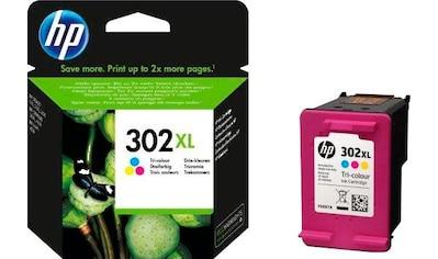 HP »hp 302XL, original, F6U67AE, color (c/m/y)« Tintenpatrone kaufen