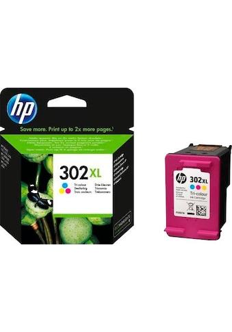 HP Tintenpatrone »hp 302XL, original, F6U67AE, color (c/m/y)« kaufen
