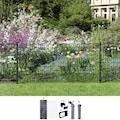 GAH Alberts Schweissgitter »Fix-Clip Pro®«, 100 cm hoch, 10 m, anthrazit beschichtet, zum Einbetonieren