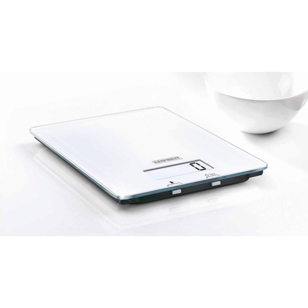 Leifheit Küchenwaage, mit LED Anzeige