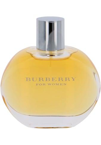 BURBERRY Eau de Parfum »Classic Women« kaufen