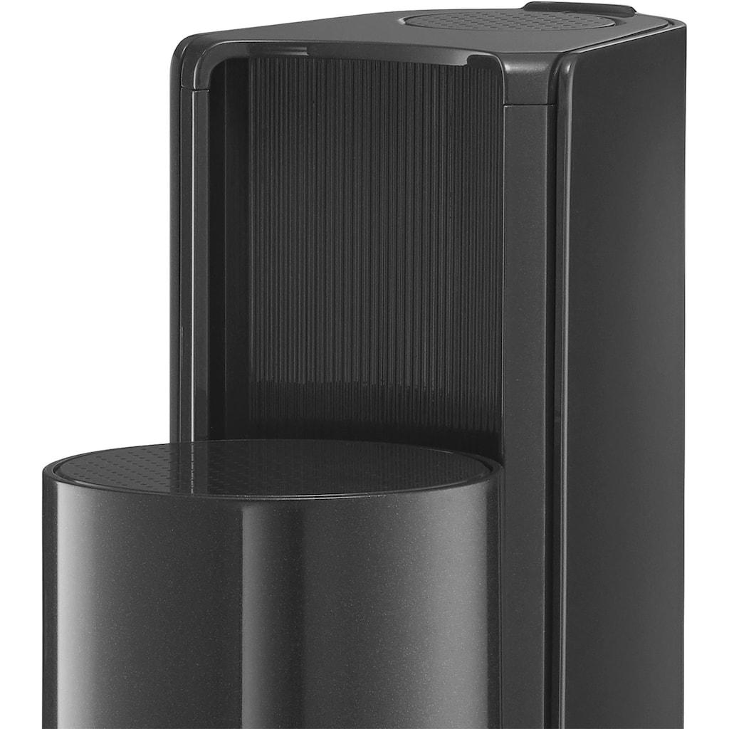 SodaStream Wassersprudler »DUO«, (Set, 4 tlg.), mit CO2-Zylinder, 1x 1L Glasflasche und 1x 1L spülmaschinenfeste Kunststoff-Flasche