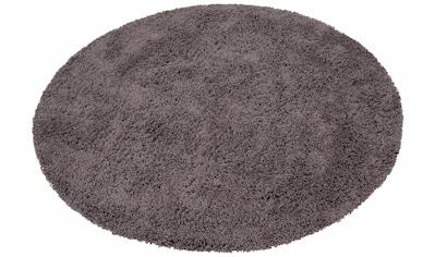 Hochflor - Teppich, »Viva«, Home affaire, rund, Höhe 45 mm, maschinell gewebt kaufen