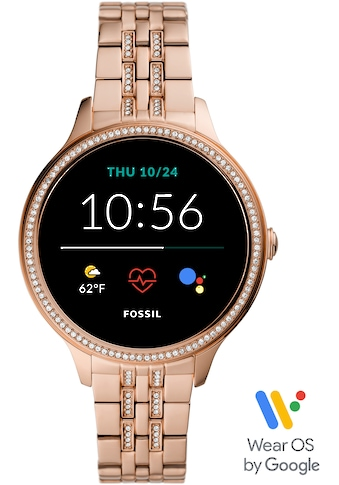 Fossil Smartwatches Smartwatch »GEN 5E SMARTWATCH, FTW6073« (, Wear OS by Google, mit individuell einstellbarem Zifferblatt kaufen