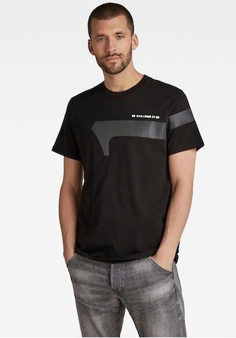 G-Star RAW Rundhalsshirt »Reflective Graphic Tee« kaufen