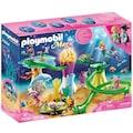 Playmobil® Konstruktions-Spielset »Korallenpavillon mit Leuchtkuppel (70094), Magic«, Made in Germany