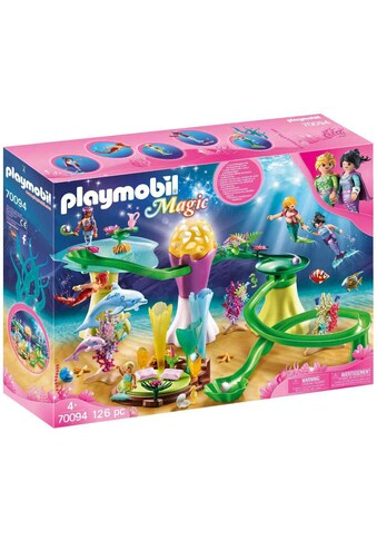 "Playmobil® Konstruktions - Spielset ""Korallenpavillon mit Leuchtkuppel (70094), Magic"", Kunststoff kaufen"