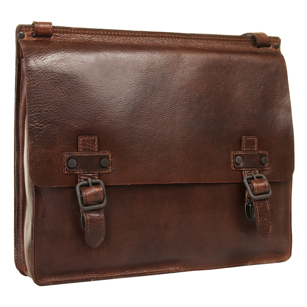 Harold's Messenger Bag »ABERDEEN«, vegetabil gegerbt