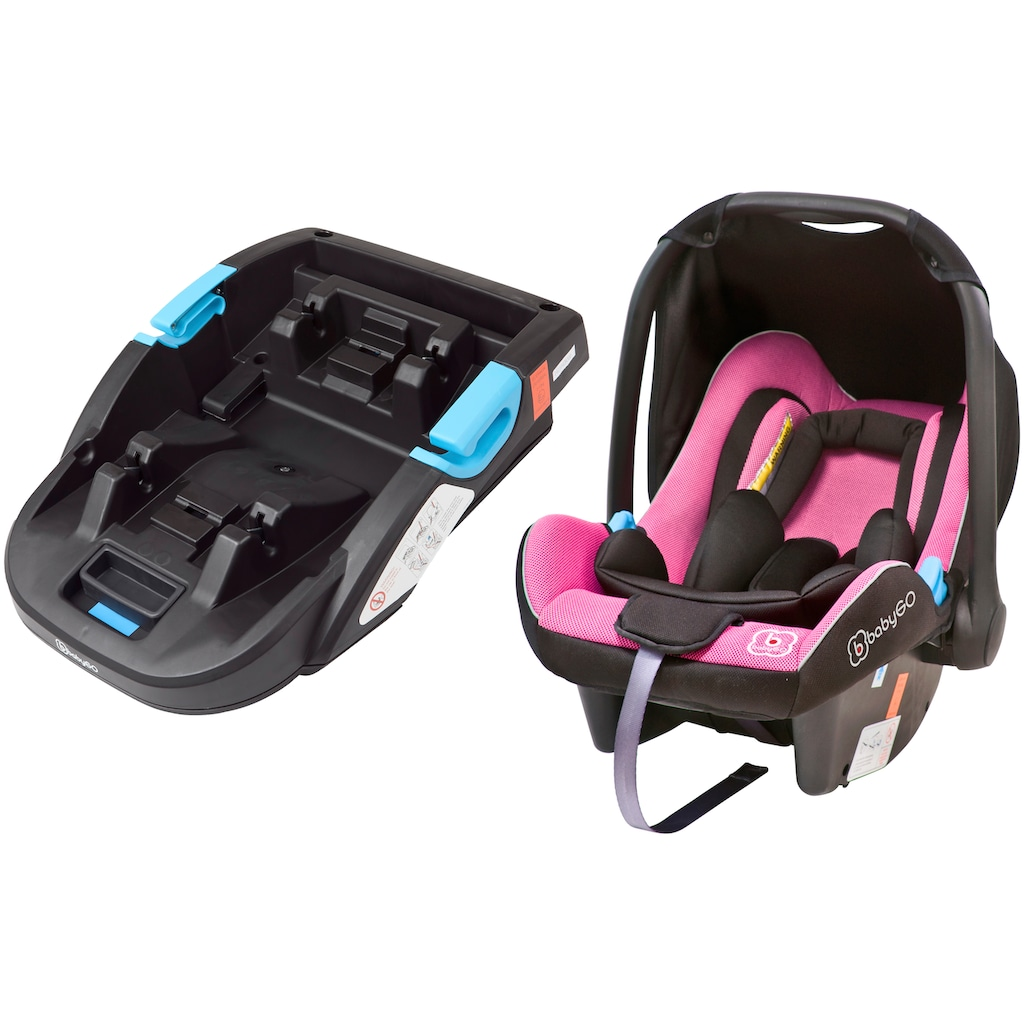 BabyGo Autokindersitz »Travel XP + Base«, Klasse 0+ (bis 13 kg)