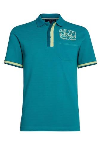 AHORN SPORTSWEAR Poloshirt mit modischer Kontrastpaspel kaufen