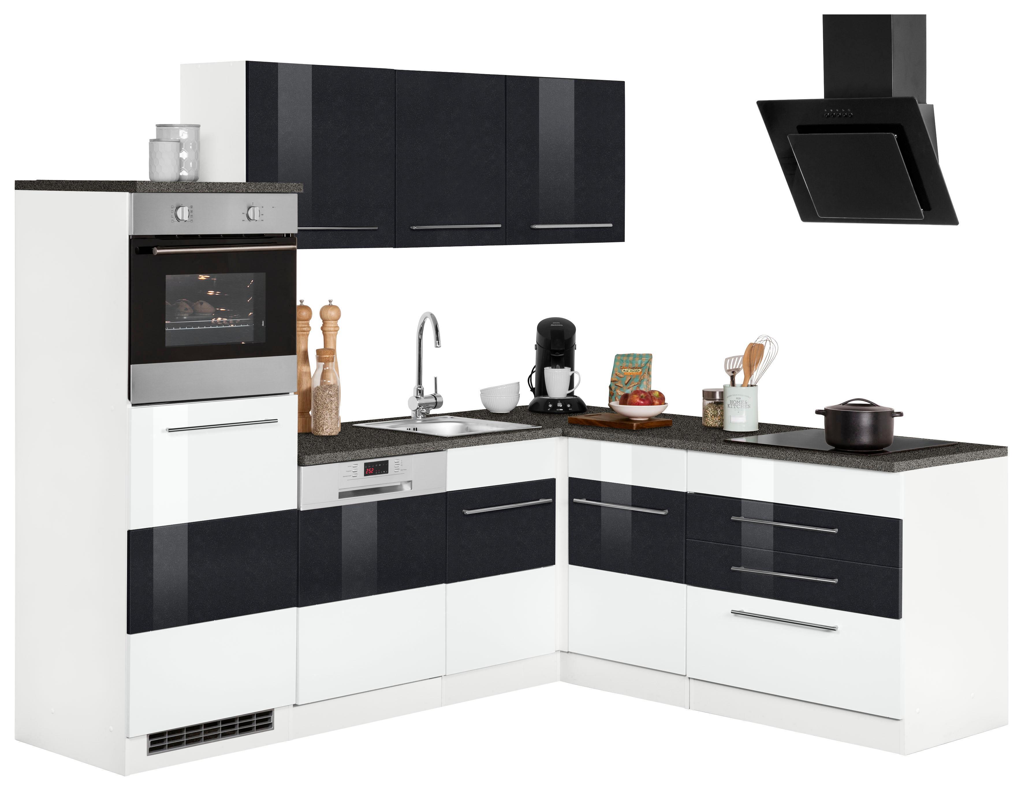 Winkelküche Trient ohne E-Geräte Stellbreite 230 x 190 cm