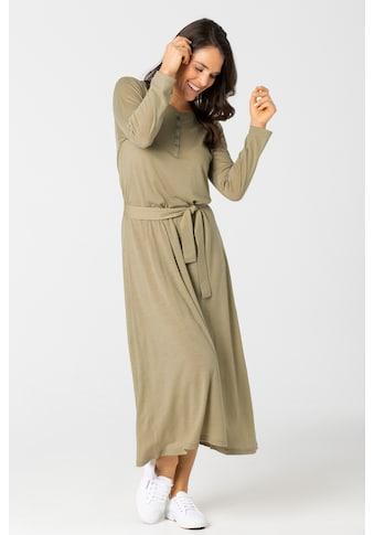SUPER.NATURAL Sweatkleid »W ANTWERPEN DRESS«, mit Gürtel in passender Farbe kaufen