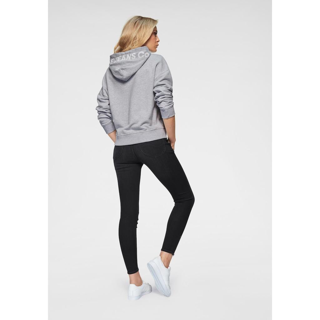 Lee® Skinny-fit-Jeans »Scarlett High«, mit Zipper am Saum