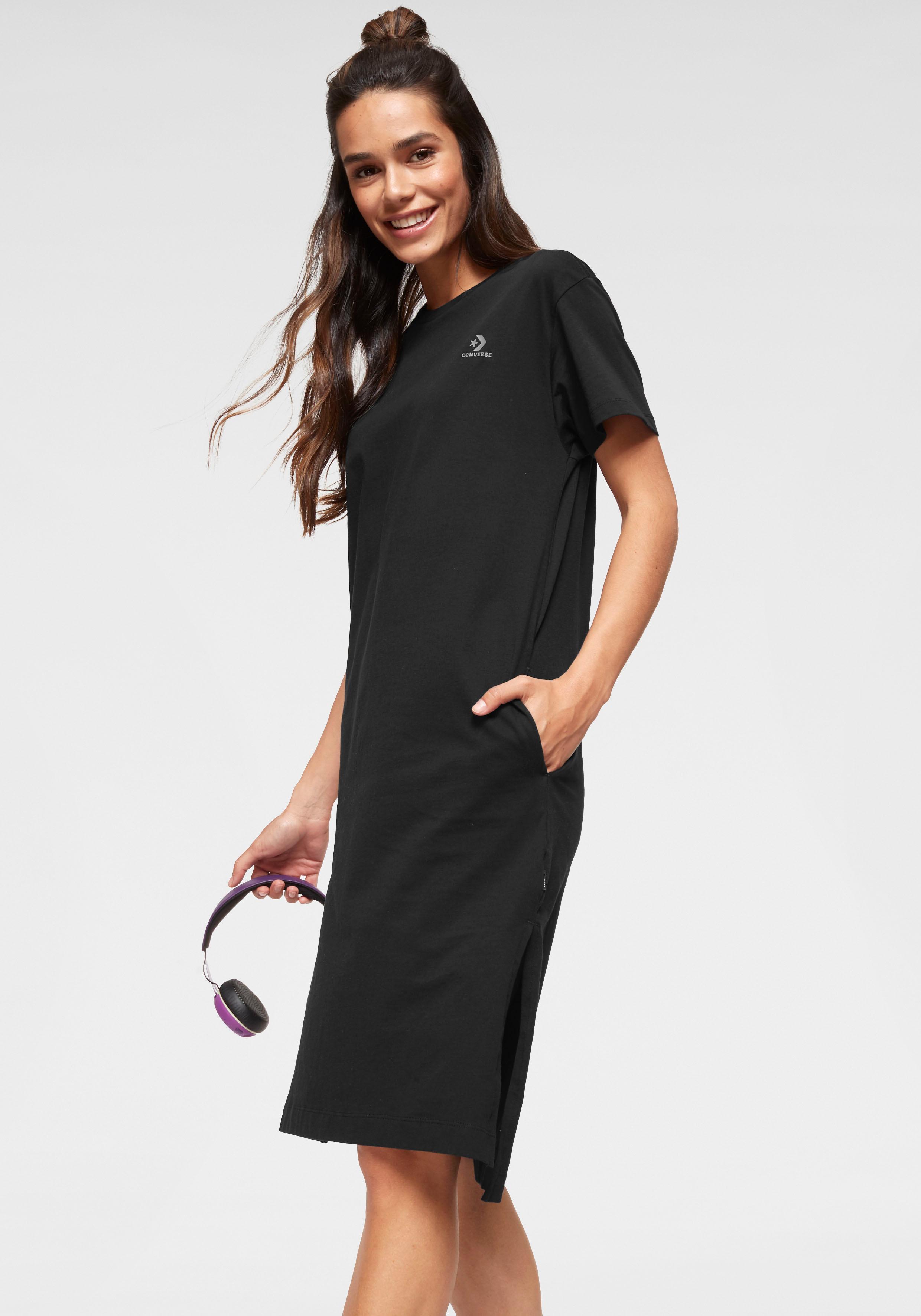 Converse Shirtkleid LONG TEE DRESS Damenmode/Bekleidung/Kleider/Shirtkleider